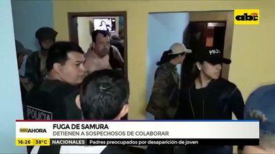 Fuga de Samura: Detienen a sospechosos de colaborar