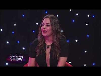 """Larissa Riquelme en exclusiva en """"El debate del Show"""""""