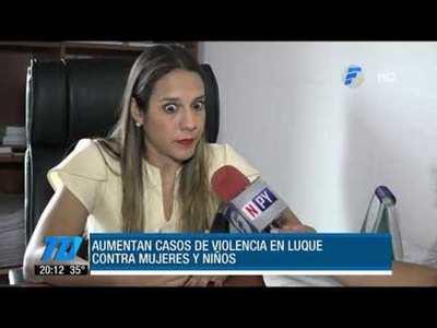 Luque lidera casos de violencia contra la mujer