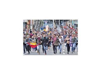 La diversidad toma calles de Bogotá a 5 días de protestas