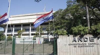 Huelga de funcionarios de ANDE se inicio este martes