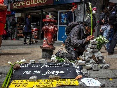 Bogotá: Muere estudiante herido por violencia policial