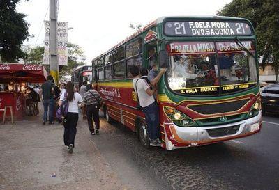 Si aumenta el costo del boleto de los buses, ¡hendýta kavaju resa!