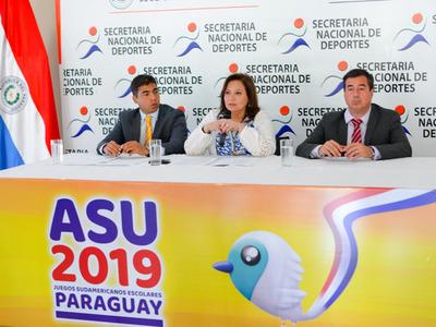 Los detalles sobre los Juegos Sudamericanos Escolares