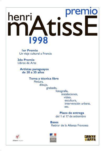 Exhiben afiches del Premio Matisse