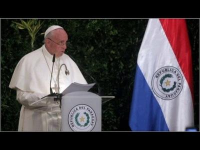 Según el papa Francisco se vive una situación parecida a la época de Stroessner