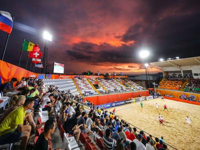 Los cruces por los cuartos de final del Mundial de fútbol playa
