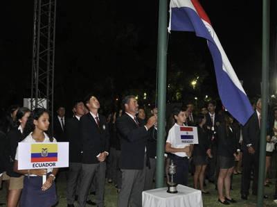 Inauguración del Campeonato Sudamericano de Golf Copa Los Andes