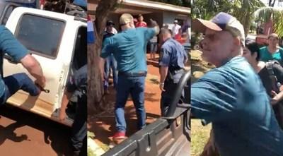 Payo Cubas: Reparte golpes y patadas pero se muestra como víctima de persecución política