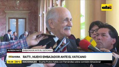 Ratti, nuevo embajador ante el vaticano