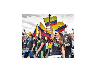 Una tibia adhesión al paro en Colombia