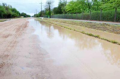 Llega esperada lluvia en el Chaco Central