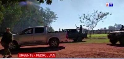 Policía es abatido en enfrentamiento en Pedro Juan