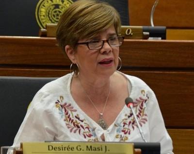Desirée Masi critica que no le permitieran rectificar su voto