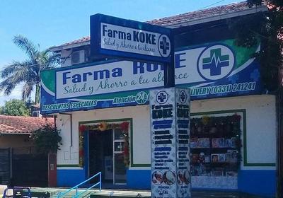 Estafan a dos casas comerciales en Concepción