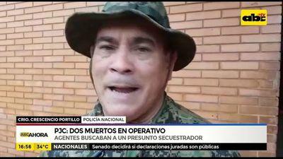 PJC: Dos muertos en operativo para atrapar a secuestrador