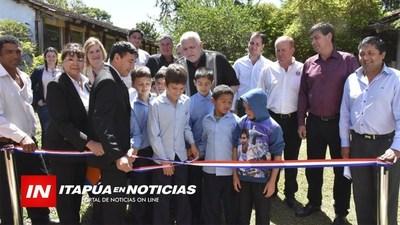 ESCUELAS DE CAMBYRETÁ FUERON BENEFICIADAS CON OBRAS DE LA GOBERNACIÓN