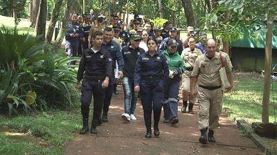 Policías municipales intercambian conocimientos con sus pares del extranjero