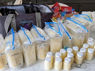 No pudo salvar a su hijo, pero donó 15 litros de leche materna