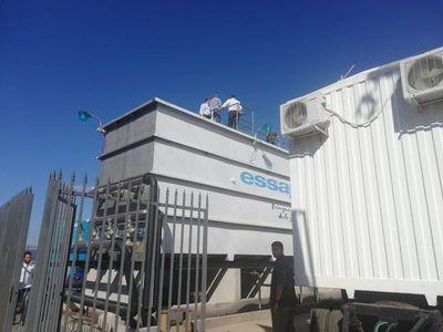 Essap inaugura planta de tratamiento en San Ber