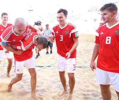 BEACH SOCCER FIFA: ¡ESTOS SON LOS EQUIPOS SEMIFINALISTAS!