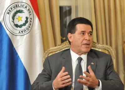 Horacio Cartes queda liberado de la orden de captura