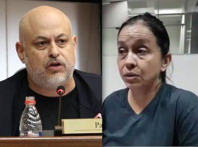 """Esposa de 'Payo"""" dice que es senadora suplente y presenta amparo para jurar"""