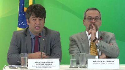 Ministro brasileño anuncia salida de la cartera de Educación del Mercosur