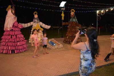 En Isla Pucú renace pesebre amigable con el medio ambiente y el espíritu navideño