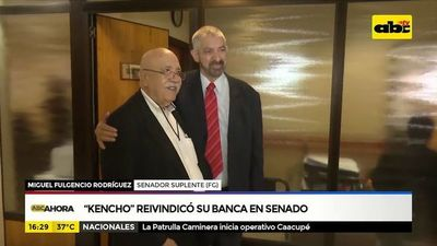 """Kencho"" Rodríguez  omohenda banca Senado-pe"