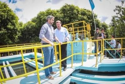 Millonaria inversión para garantizar la provisión de agua potable