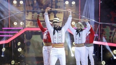 Diego Brítez se emocionó tras bailar Danza Paraguaya