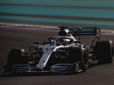 Hamilton saldrá desde la 'pole' en Yas Marina