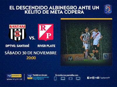La previa del partido Deportivo Santaní vs. River Plate