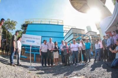 Inauguran tres plantas de tratamiento que beneficiarán a más de 8.000 usuarios