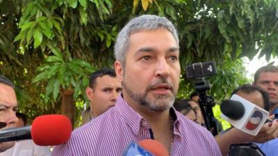 Yo no tengo cómo cobrarle a Ulises Quintana a través de la justicia, sostiene Mario Abdo
