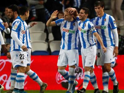 Real Sociedad se luce ante su gente goleando al Eibar