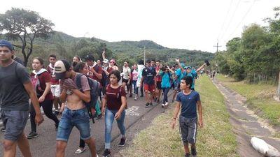 Miles de jóvenes pidieron por un mejor Paraguay