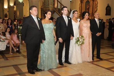 María Paz y Esteban contrajeron nupcias