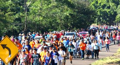 Salud emite recomendaciones para los peregrinos que irán a Caacupé