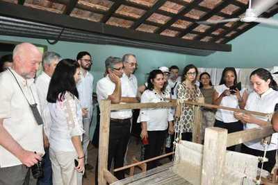 Diplomáticos se comprometieron a difundir atractivos turísticos y culturales del país