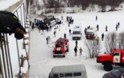 Rusia: Vuelco y caída de un autobús deja al menos 19 muertos