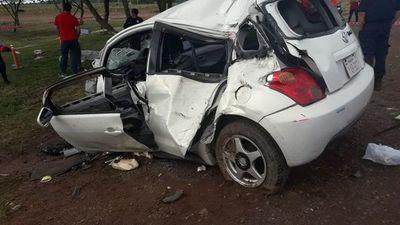 Dos niños murieron en un percance rutero en San José de los Arroyos