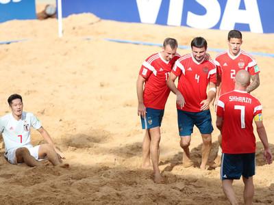 El tercer puesto de la Copa Mundial de fútbol playa es para Rusia