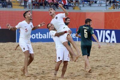 Portugal se consagra campeón del mundial de fútbol de playa