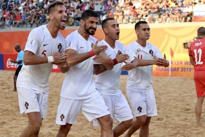 Portugal venció a Italia y es bicampeón del Mundial