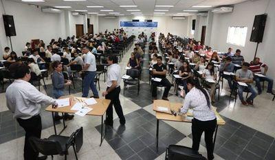 Itaipú oikuaauka lista aranduchauka ohasáva concurso de oposición reheguápe