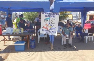 Bomberos de Concepción recaudan 30 millones