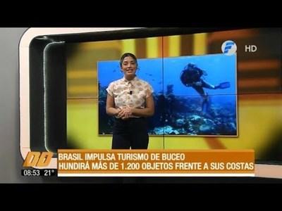 Brasil impulsa el turismo de buceo