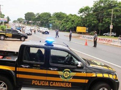 Patrulla Caminera impulsa su Operativo Caacupé 2019